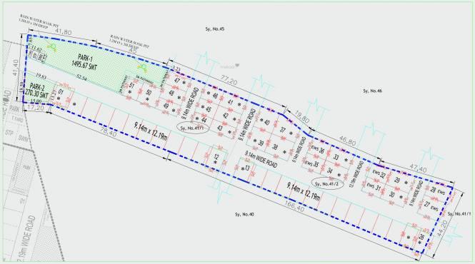 greendales Layout Plan