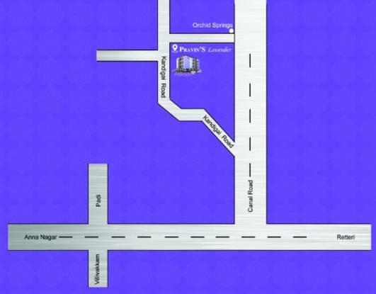 pravins-lavender Location Plan