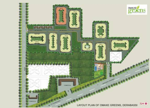 omaxe-greens-gt-4 Master Plan
