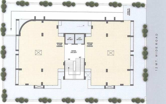 pushpkunj-residency Pushpkunj Residency Hollow Pinith Cluster Plan