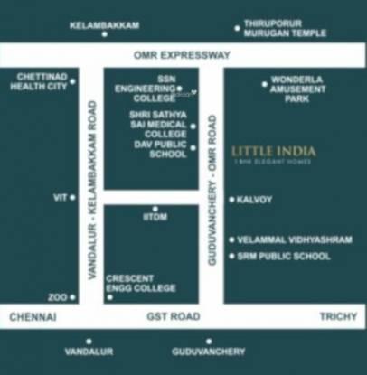 little-india Location Plan