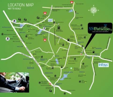 paradise Location Plan