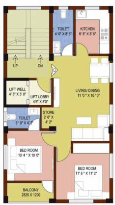 honest-home Honest Home Cluster Plan from 1st to 4th Floor