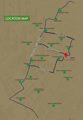 venus Location Plan