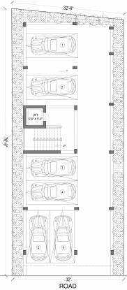 mangalam Green Mangalam Stilt Cluster Plan