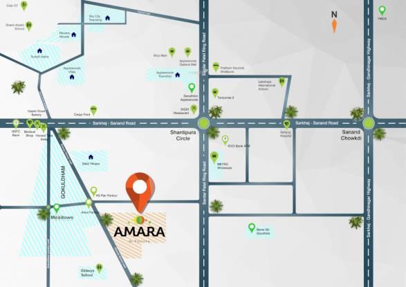 amara Location Plan