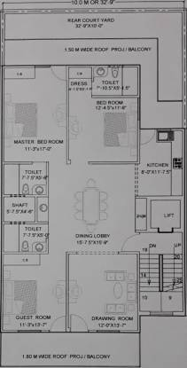 homes Homes Cluster Plan From 1st To 4th Floor
