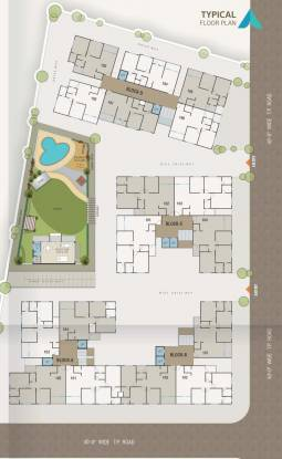 aman-heights Layout Plan