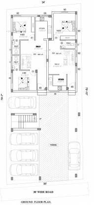 vitu Viva Vitu Cluster Plan for ground Floor