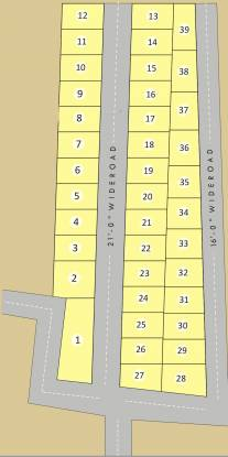 north-villas Layout Plan