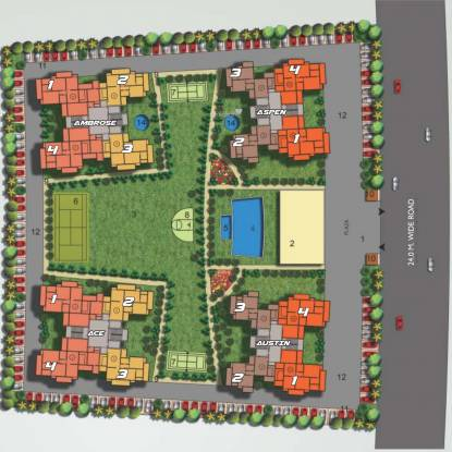 sports-home-phase-2 Site Plan