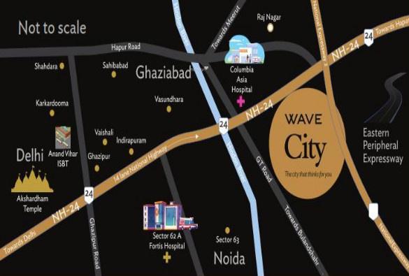 uchdpl-veridia-oakwood-enclave Location Plan