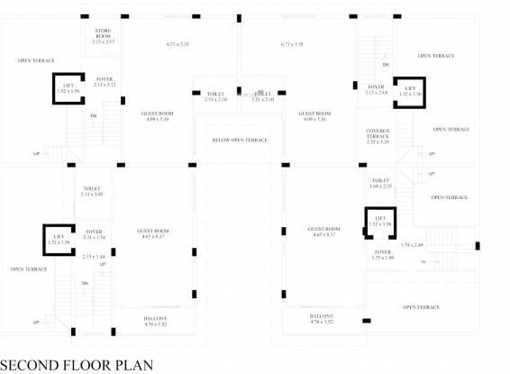 manibhadra-bungalows Layout Plan