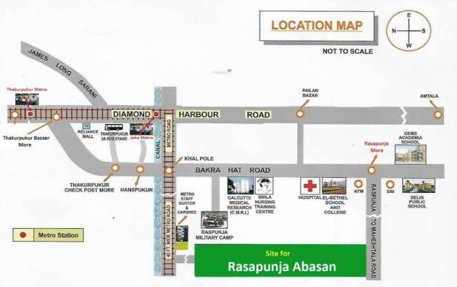 rasapunja-abasan-villa Location Plan