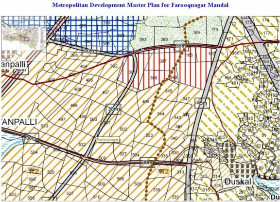 palm-greens Location Plan