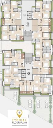 venue-82 Block A,B Cluster Plan For Typical