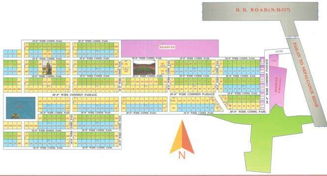 niharika Layout Plan