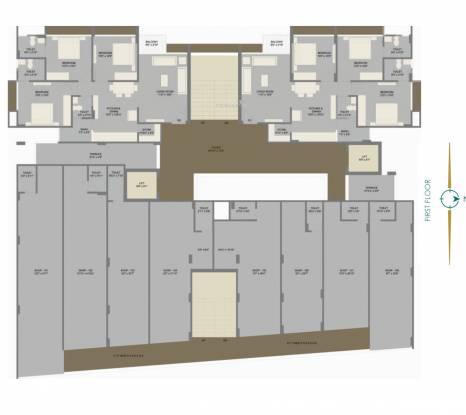 serene-2 Serene 2 Cluster Plan for 1st Floor
