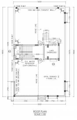 mrinomoy-co-operative-housing-society-pvt-ltd Mrinomoy Co Operative Housing Society Pvt Ltd Cluster Plan For Roof Plan