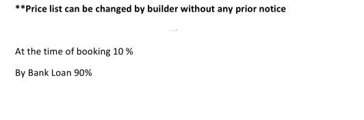 villa Construction Linked Payment (CLP)
