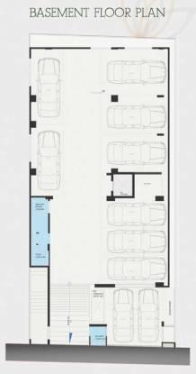 visthaara Evantha Visthaara Cluster Plan For Basement Floor