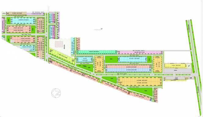 palm-city Layout Plan