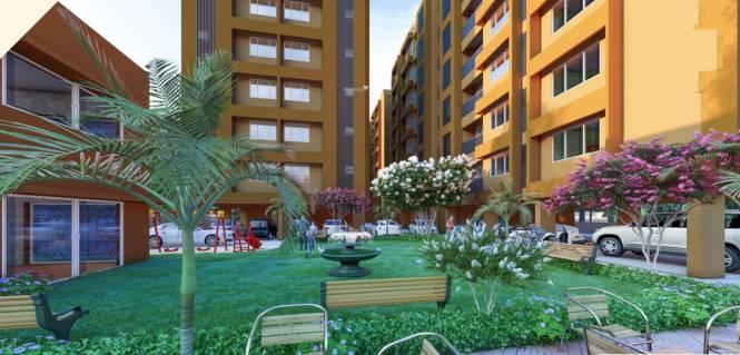 gunjan-flat Landscaped Gardens