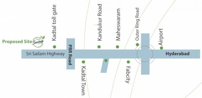 sankalp-homes Location Plan