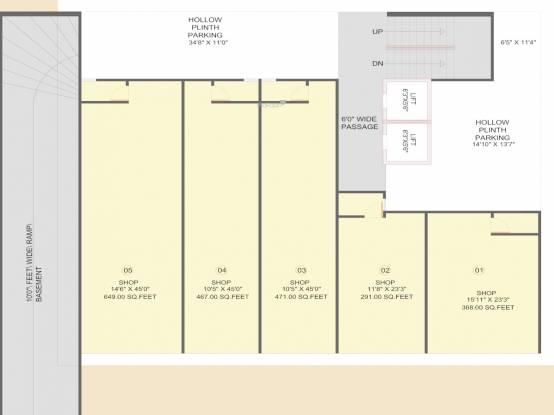 harikalp-deluxe Harikalp Deluxe Cluster Plan for ground Floor