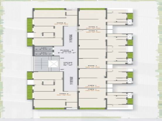 falak-residency Falak Residency Cluster Plan from 1st to 7th Floor