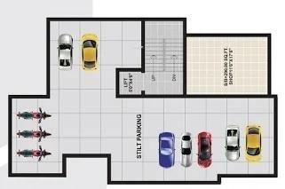 madhuri-enclave Nupur Madhuri Enclave Cluster Plan for ground Floor