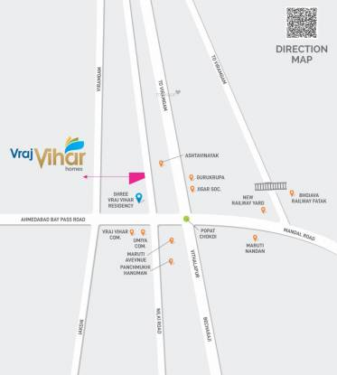 vraj-vihar-homes Location Plan