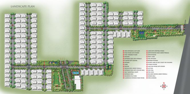 acs-prime-villas Master Plan