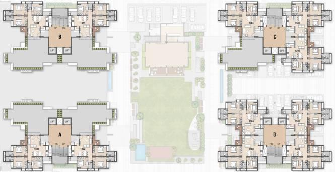 swarnim-dharti A,B,C,D Cluster Plan