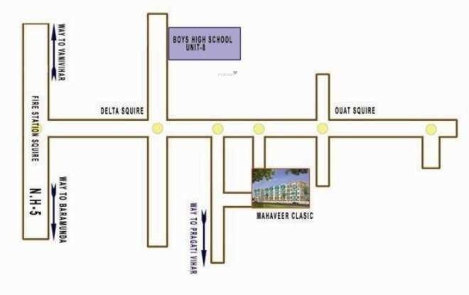 classic Location Plan