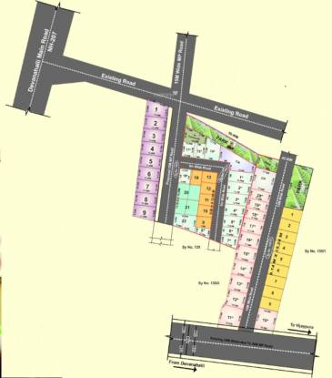aero-city Layout Plan