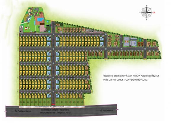 abhis-aloha Layout Plan