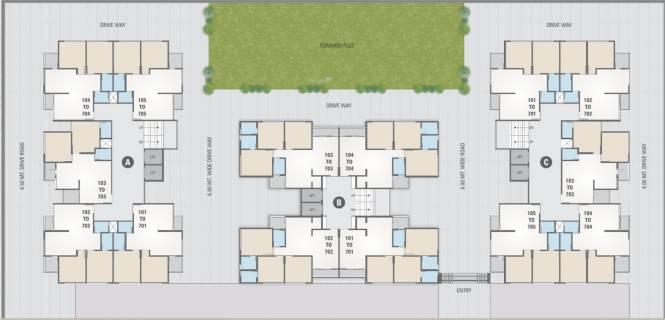 shyam-one15 Cluster Plan