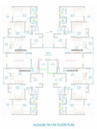 casalino-towers-phase-ii Wing C Cluster Plan