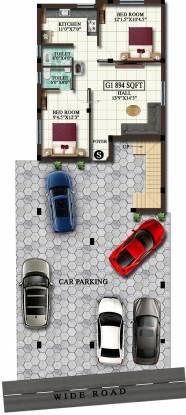 jiva Jiva Cluster Plan for ground Floor