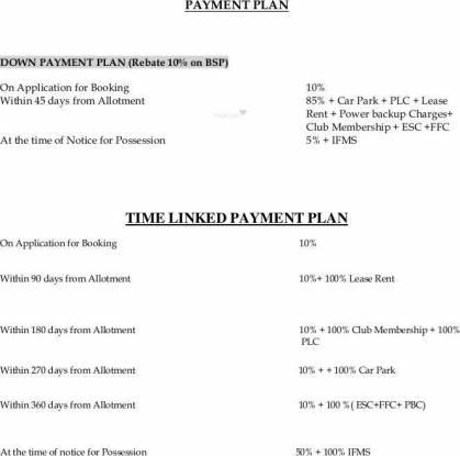 3C Lotus Boulevard Payment Plan