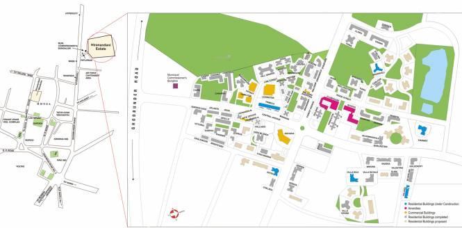 Hiranandani Estate Site Plan