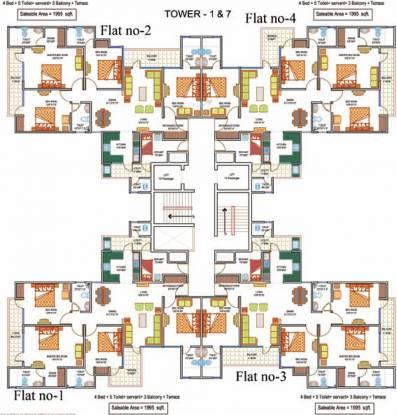 Images for Cluster Plan of La Residentia Pvt Ltd La Residentia
