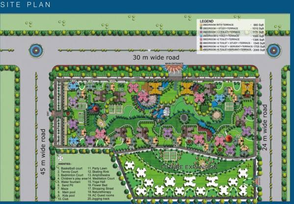 Images for Site Plan of La Residentia Pvt Ltd La Residentia