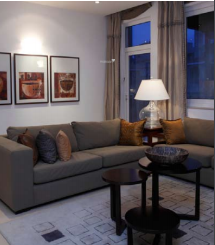 the-enclave Living Area