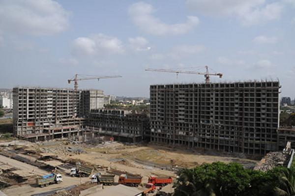 Sheth Vasant Oasis Construction Status