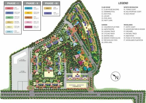 Mahagun My Woods Master Plan