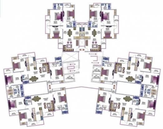 Amrapali Pan Oasis Cluster Plan