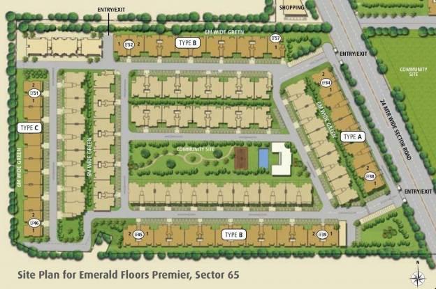 Emaar Emerald Floors Premier Phase 3 Site Plan
