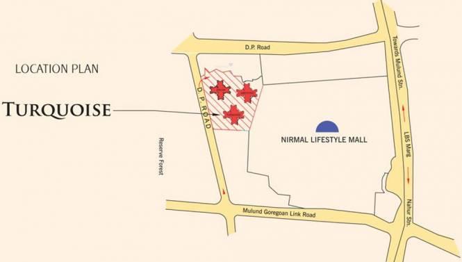 Nirmal Turquoise Location Plan